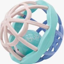 Bolinha Chocalho Baby Ball - Rosa