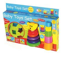 Aprendendo Brincando Baby Toys Set