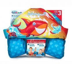Boia Colete Infantil Salva Vidas - Swimschool - 4 a 6 anos - AZUL