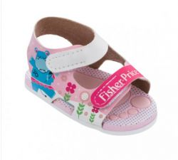 SANDÁLIA BABY FISHER-PRICE - ROSA -  13 ao 16