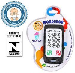 Mordedor Celular Smartphone Preto