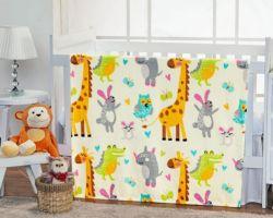 Cobertor Infantil Flannel Kids Amarelo 1,10m X 1,50m