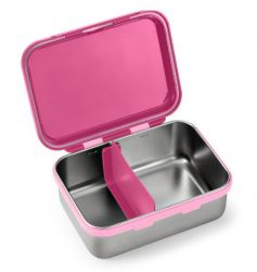 Bento Box Aço Inox Hot & Cold Fisher Price Rosa Shock