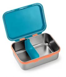 Bento Box Aço Inox Hot & Cold Fisher Price - Azul